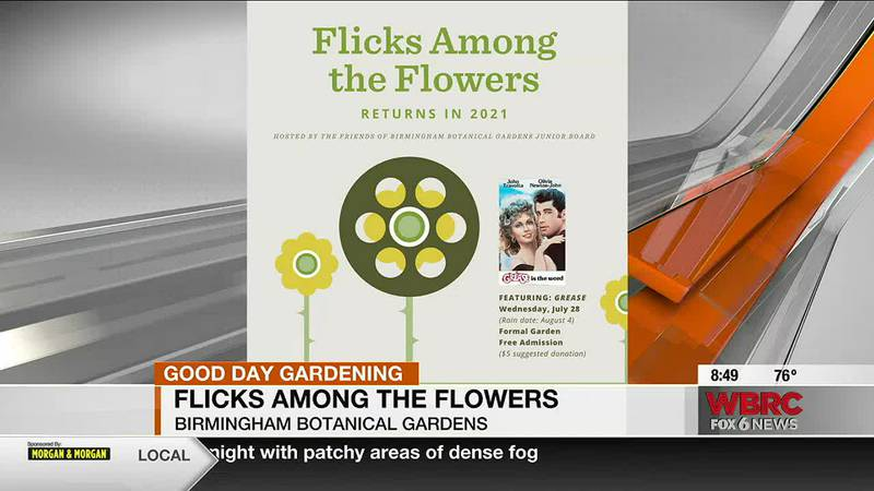 Flicks Among the Flowers returns to Birmingham Botanical Gardens next wee featuring Grease.