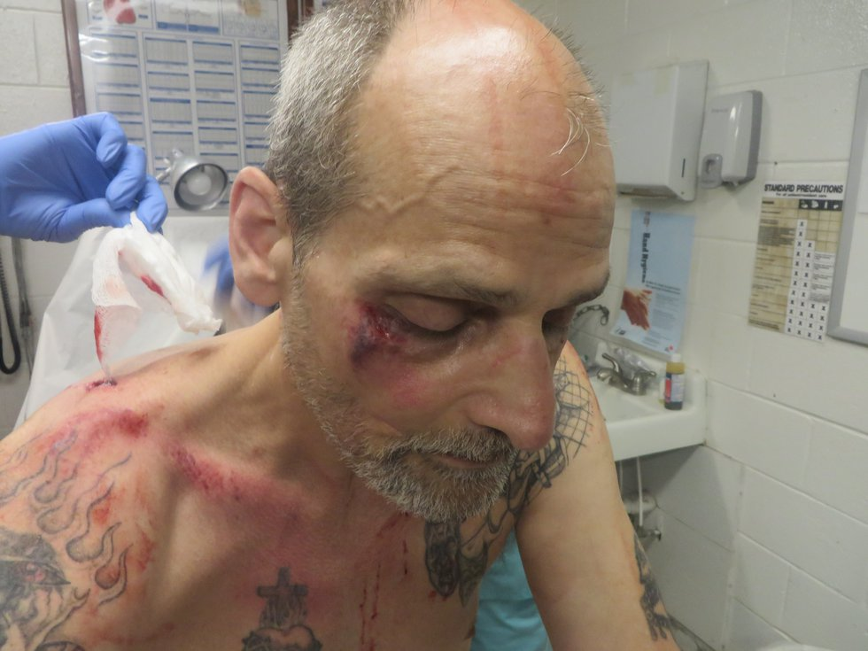 Victor Russo was stabbed 16 times in 2016. (Photo sent to WBRC)