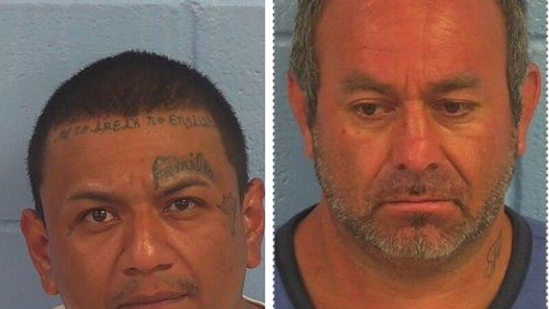 Erasmo Ramon and Rutilo Alarcon are charged with trafficking methamphetamine. (Source: Etowah...