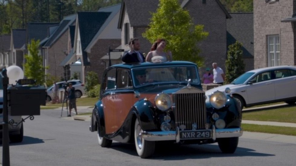 Surprise wedding parade for the Hoover newlyweds