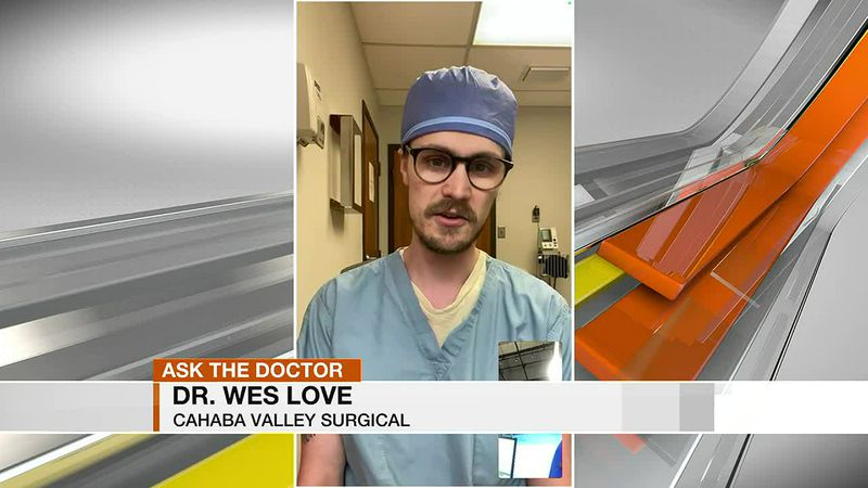 Dr. Wes Love with Cabaha Valley Surgical talks about hernia repair.