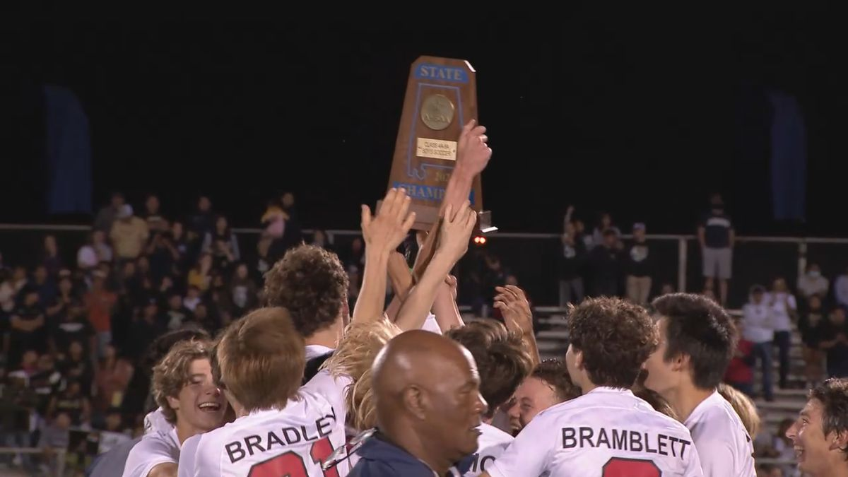 Indian Springs boys soccer team wins the 4A/5A state soccer championship