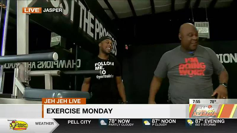 Jeh Jeh Live - Exercise Monday