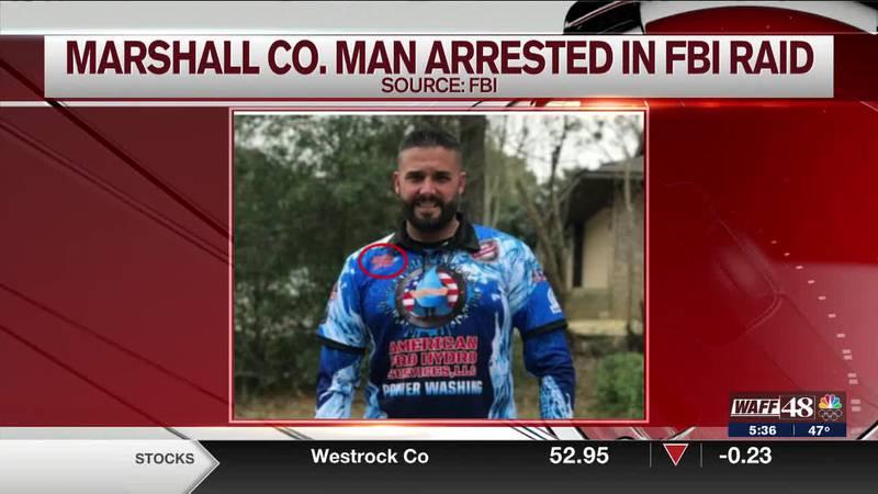 Marshall County man arrested in FBI raid