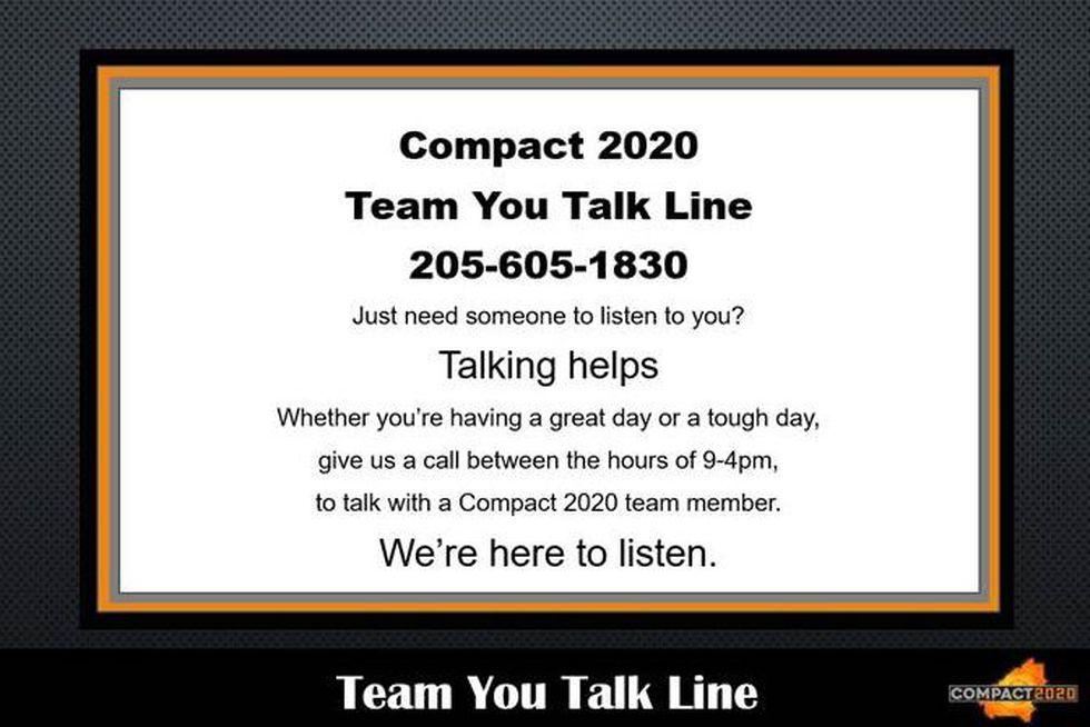 Team You Talk Line