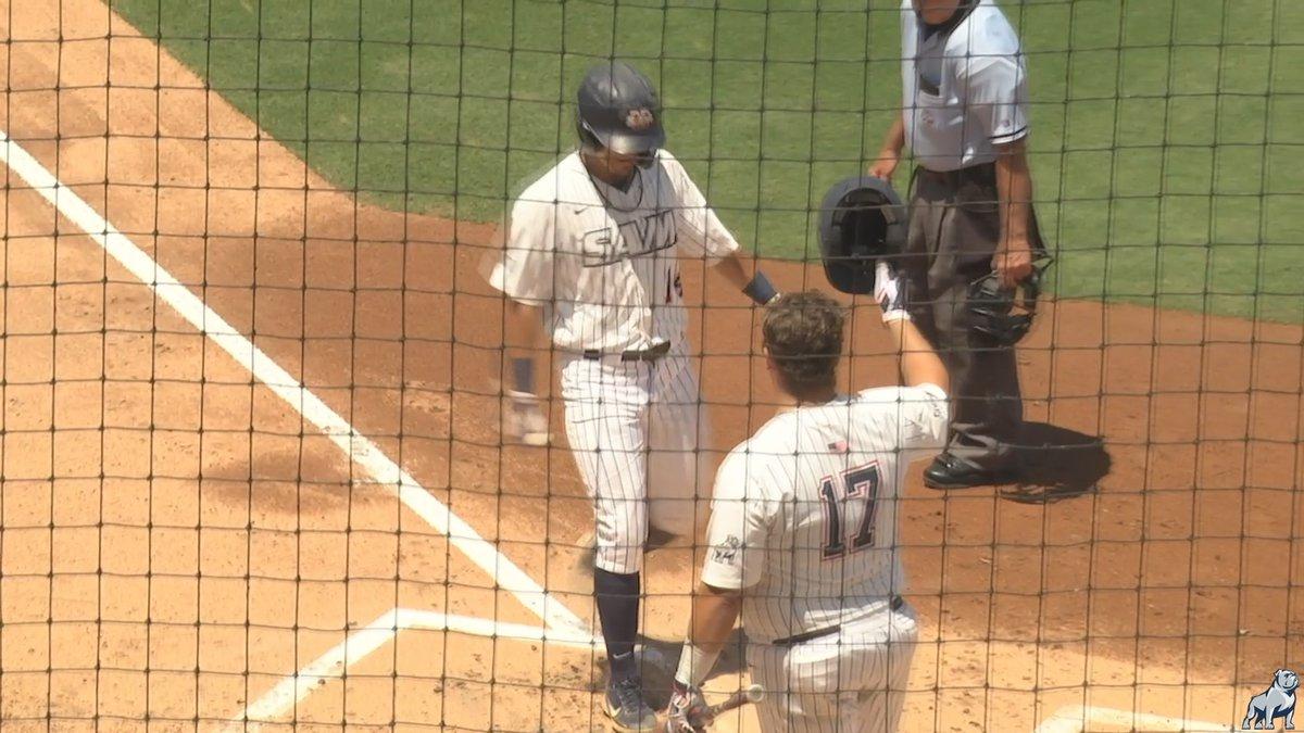 Samford baseball vs. Western Carolina in the SoCon Baseball Tournament in South Carolina.