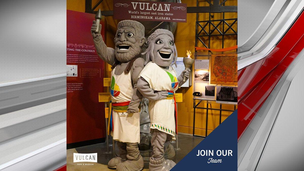 Vulcan Park looking for mascot performers, handlers