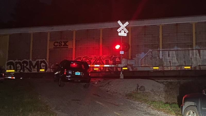 Gardendale neighbors say they're tired of CSX promises to fix this blocked train crossing.