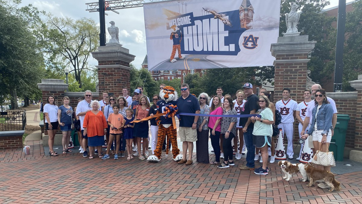Auburn football fans are excited for the new season.