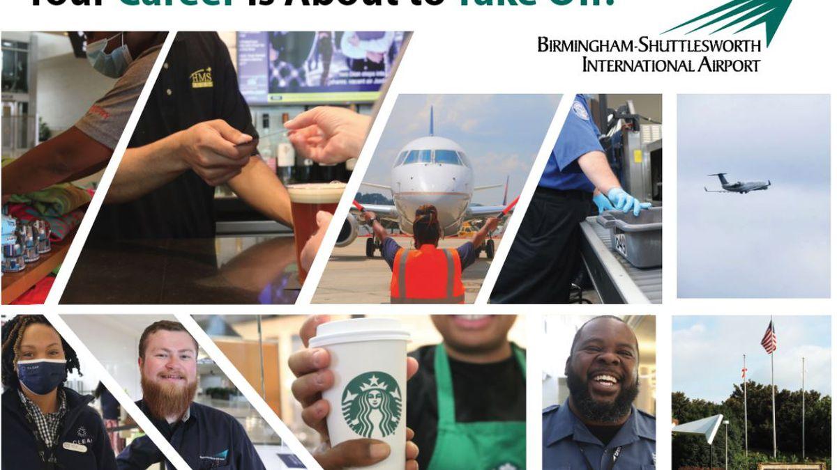Birmingham-Shuttlesworth International Airport to Host Job Fair