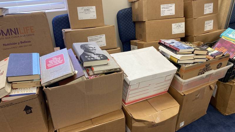 Destiny Driven and New Covenant Church are collecting books to provide literacy in local prisons.