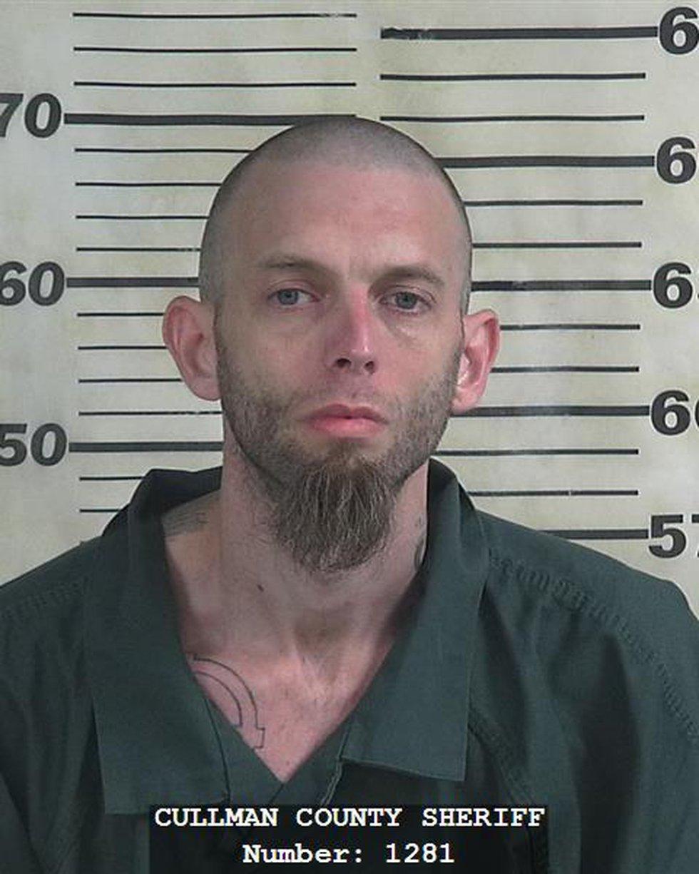 Preston Johnson, in an October 21st, 2019 mugshot from Cullman County
