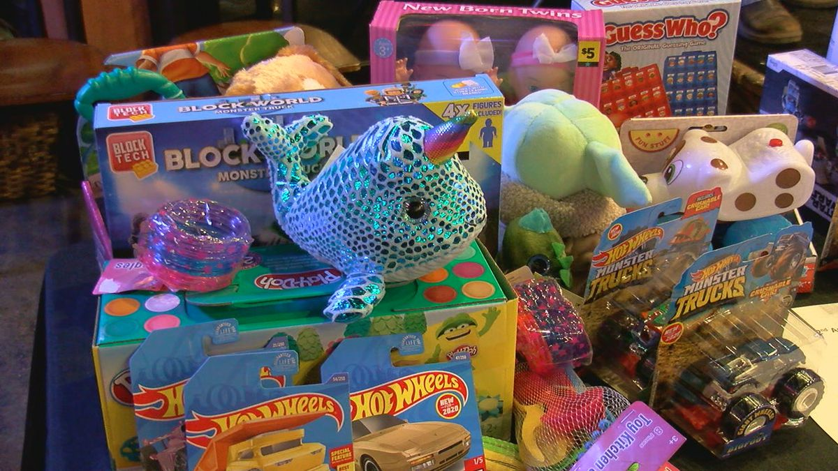 Yesdog Grill in downtown Jonesboro had its second annual Sunday Jam Toy Drive.