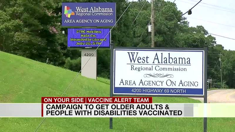 Campaign to get older adults and people with disabilities vaccinated
