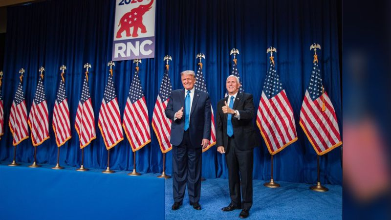 The RNC's first day in Charlotte features surprise appearances from President Donald Trump and...
