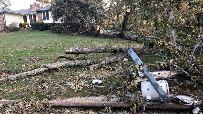 Calhoun County residents await word on when power might be restored