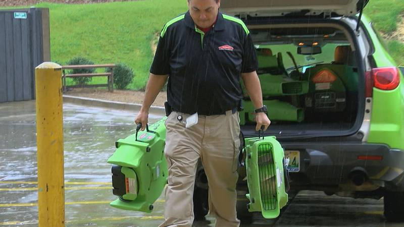 Servpro, the fire and water cleanup and restoration company, has been busy helping people...