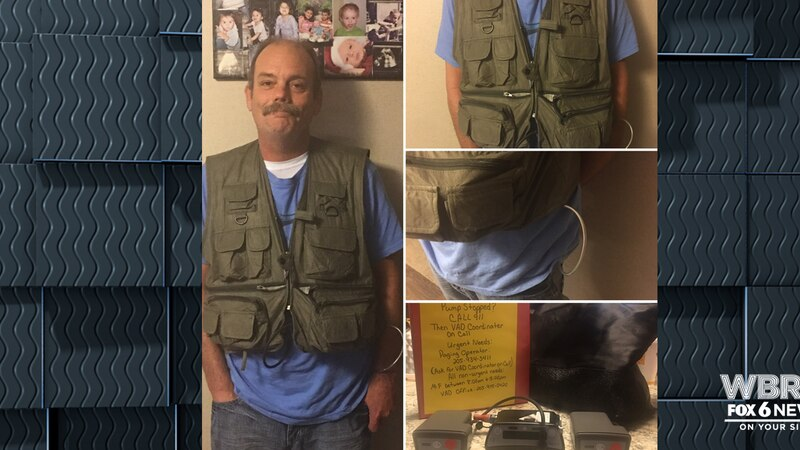 So far, police have responded on three different occasions because of people mistaking the vest...