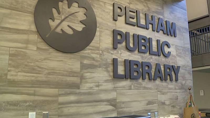 Pelham Public Library in Pelham, Ala. (Source: WBRC staff)