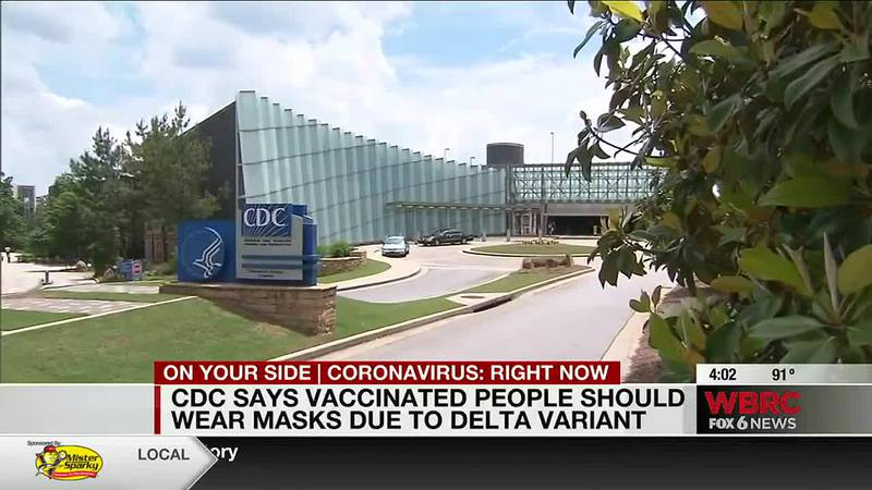 CDC says vaccinated people should wear masks due to Delta variant