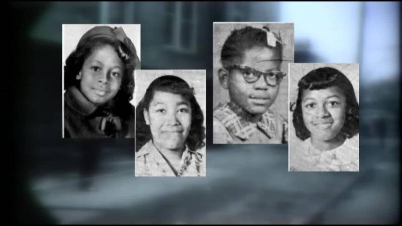 Four little girls remembered in 16th Street Baptist Church anniversary service.