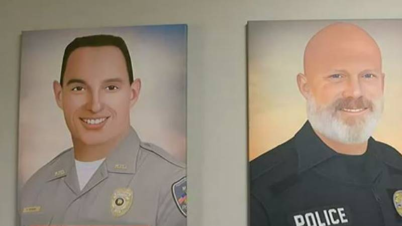 Fallen Moody officers honored