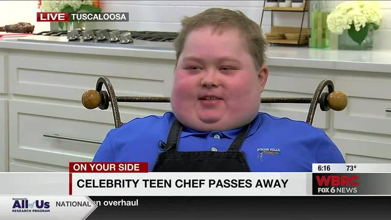 Celebrity teen chef passes away