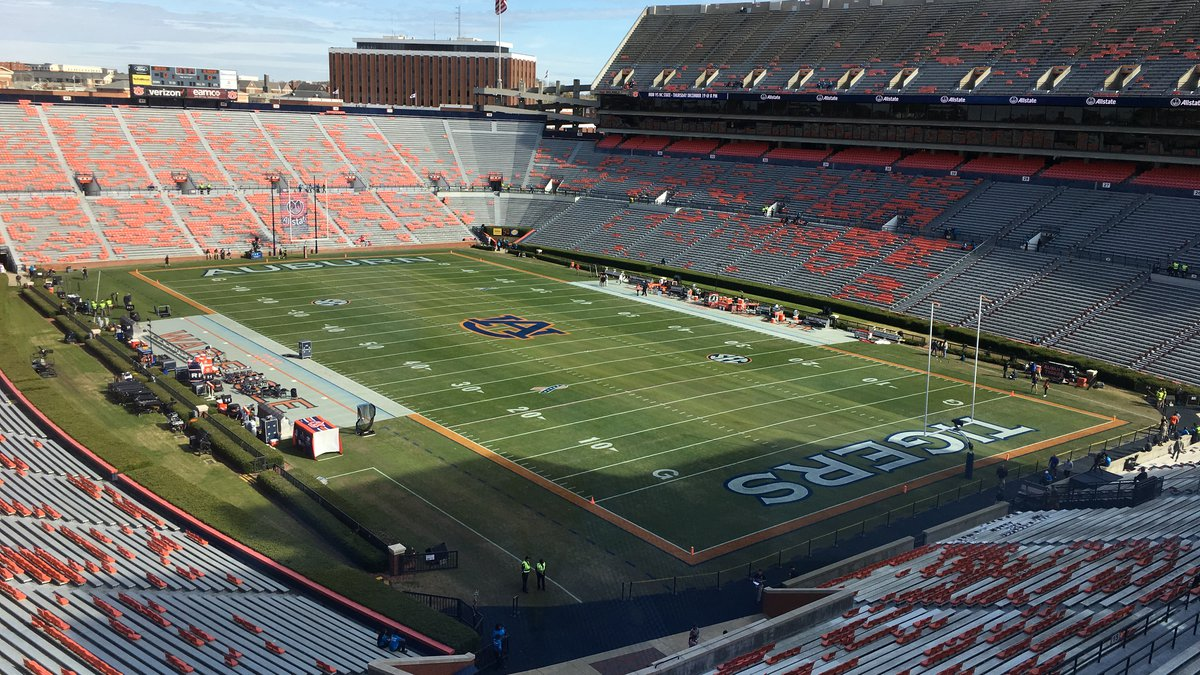 Fans of the No. 15 Auburn Tigers are celebrating after their team defeated the team from...