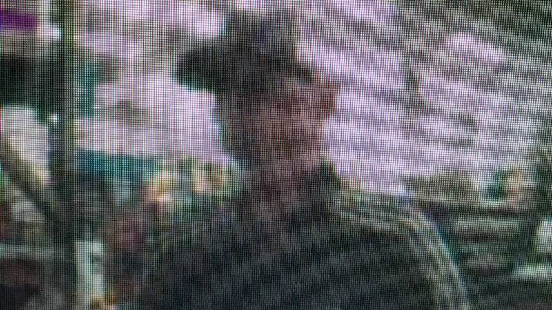 Police say this man, who they believe is named James, tried to use fake money to buy Girl Scout...