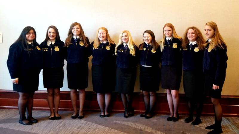 Thorsby FFA team places nationally