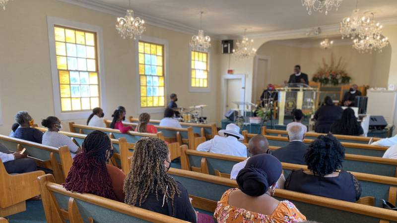 Rising COVID-19 numbers bringing concerns for local churches.