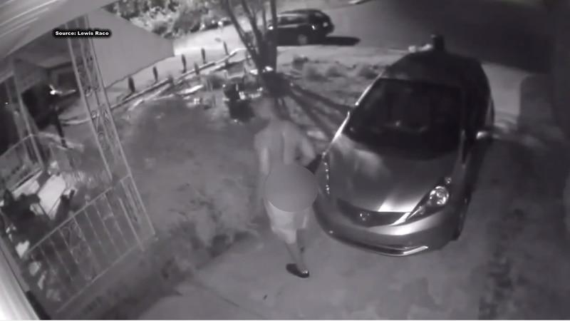 Surveillance videos of man peering into windows causing concern in Crestline Gardens