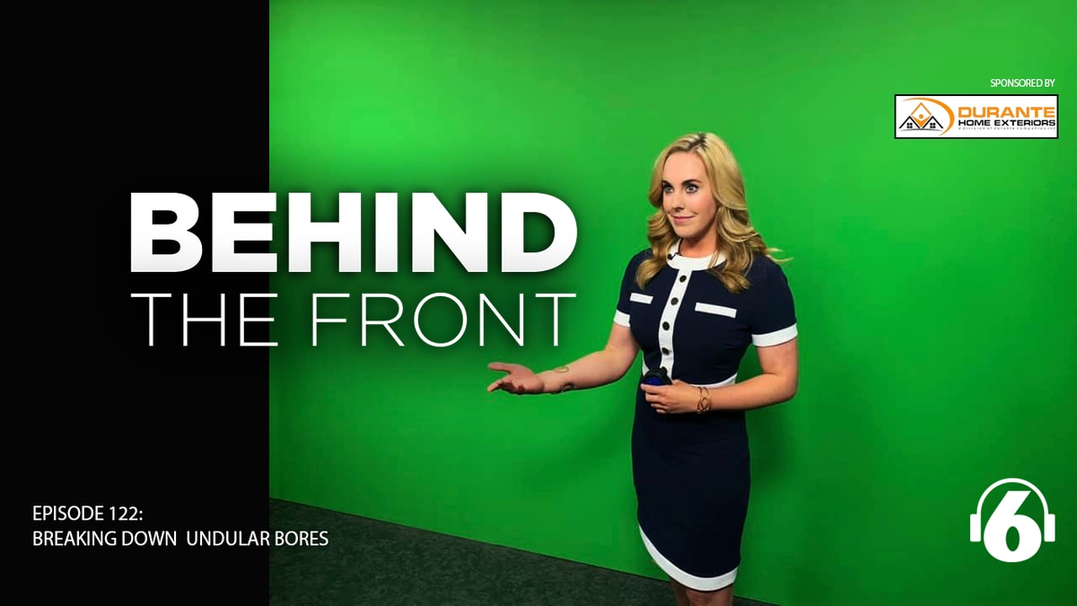 Behind The Front: Weather runs in the family w/ Sydney Sullivan