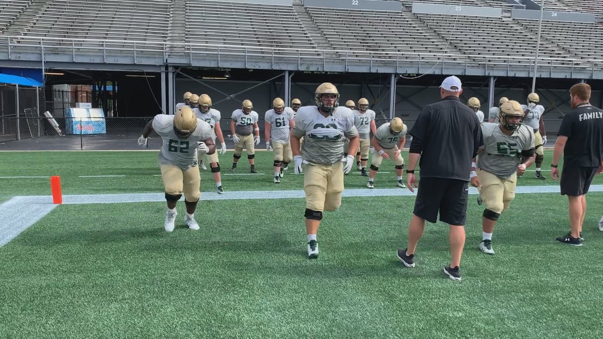 UAB scrimmaged at Legion Field Saturday for the first time since last fall.