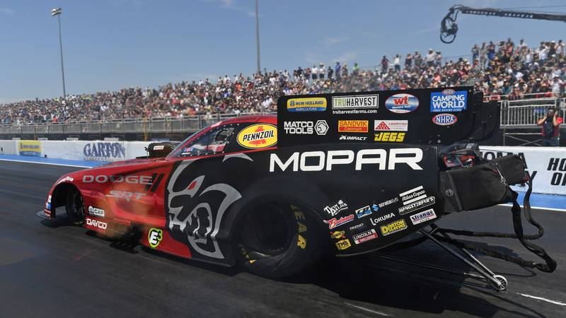 Mopar and Dodge racers ready for Dodge//SRT NHRA Nationals Presented by Pennzoil
