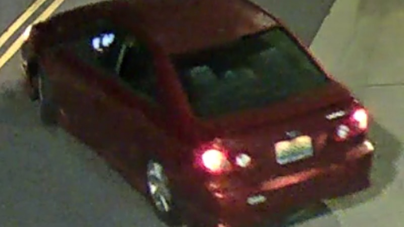 Police release pictures of what's believed to be the suspect's vehicle in the church shooting.