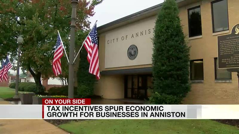 Tax incentives spur economic growth for businesses in Anniston
