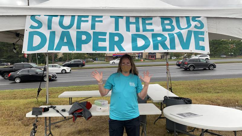 The Stuff the Bus diaper drive is this weekend on U.S. Hwy. 280.