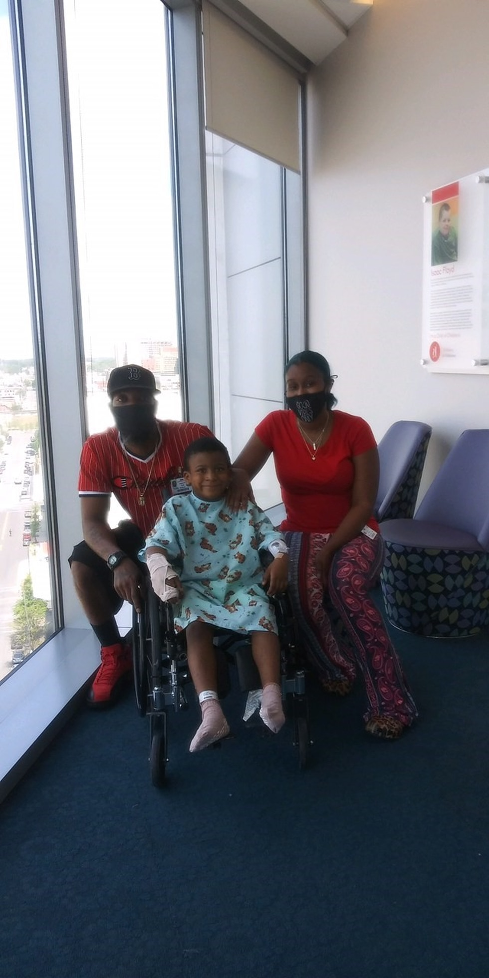5-year-old Justice is now off the ventilator after a shooting Easter Sunday.
