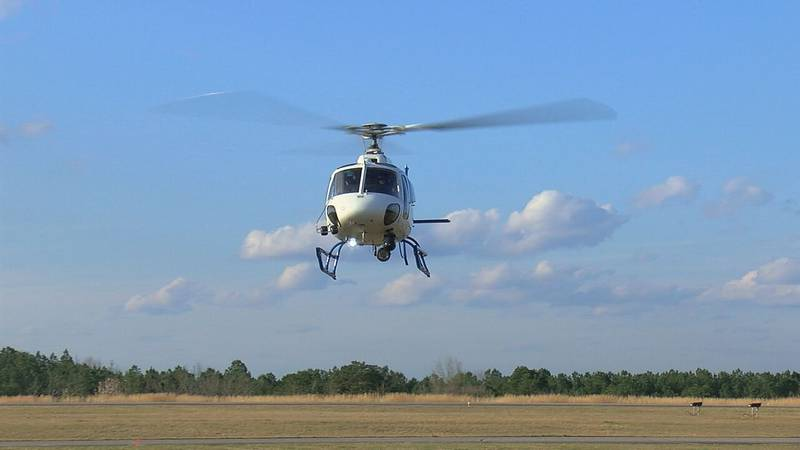 This new MACC helicopter is equipped with advanced FLIR cameras that help deputies find bad...