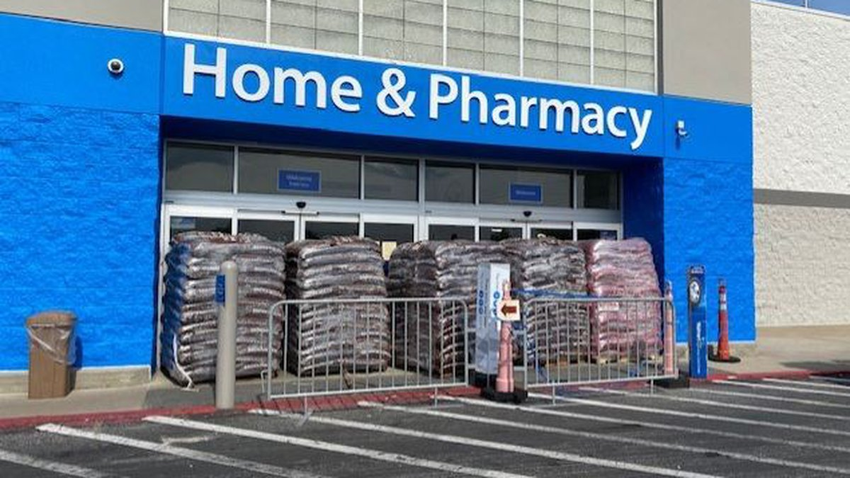 Walmart in Leeds closed early Monday