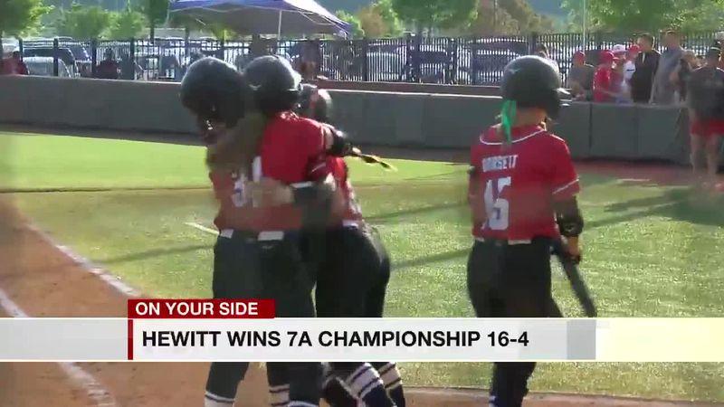 Hewitt-Trussville softball wins 7A Championship