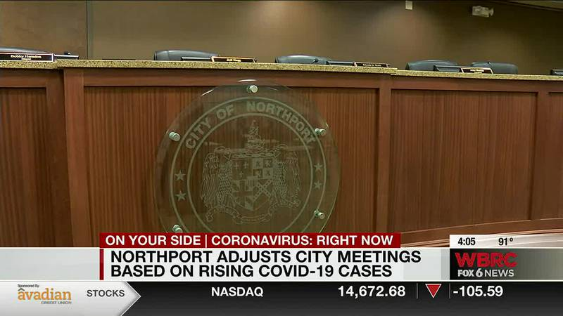 Northport adjusts city meetings based on rising COVID-19 cases