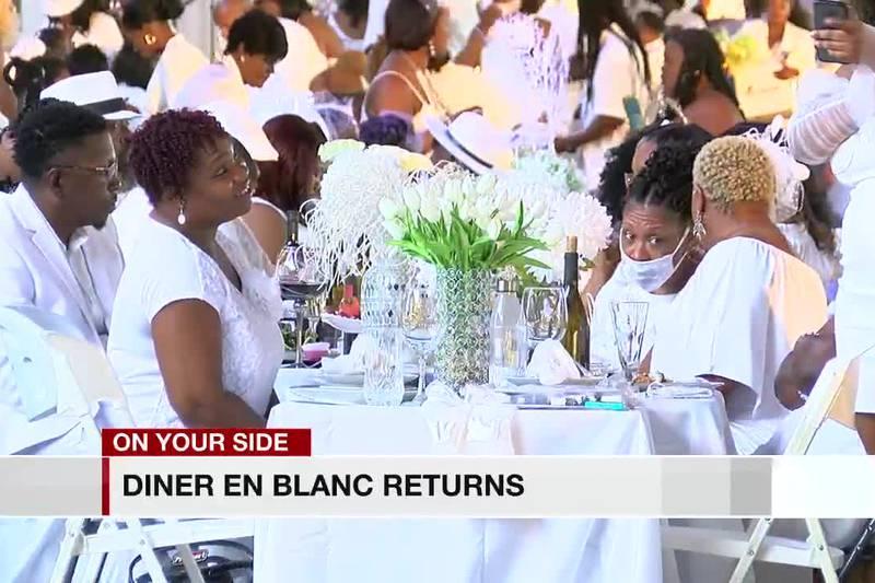 Diner En Blanc returns to Birmingham