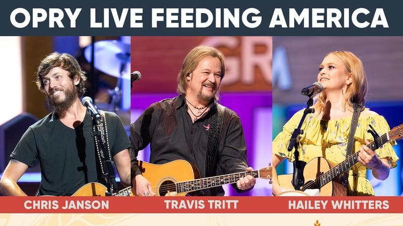 Opry Live Feeding America on WBRC FOX6