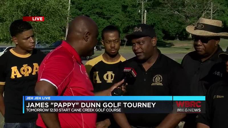"""Jeh Jeh joins us live from Cane Creek Golf Course at McClellan for the James """"Pappy"""" Dunn golf..."""