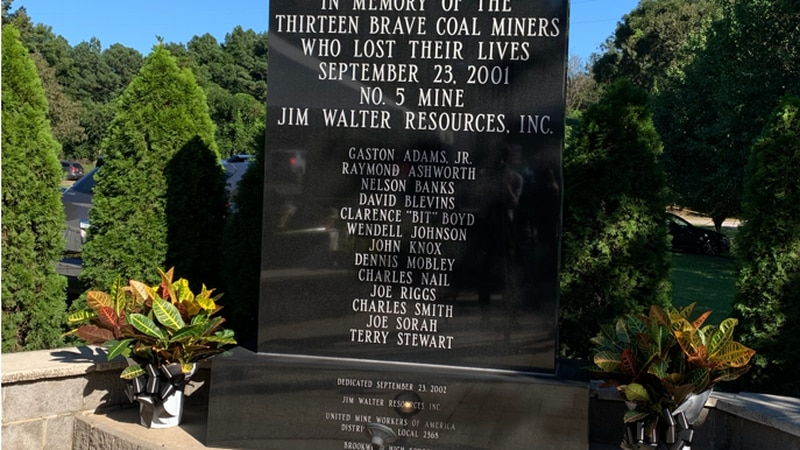 The September 23, 2001 tragedy was one of the deadliest mine disasters in decades.