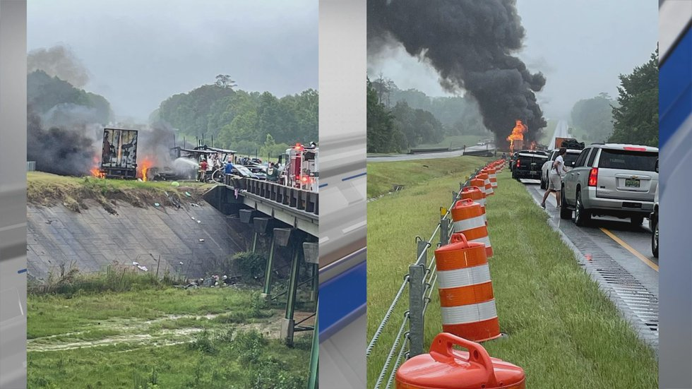 Viewer photos from the deadly crash on Interstate 65 near Greenville that happened on June 19,...
