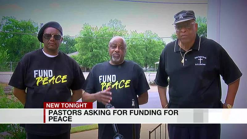 Pastors ask for funding for peace