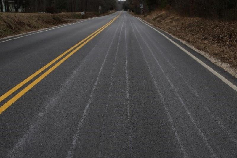 Pretreated roads.